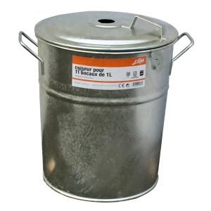 Stérilisateur acier galvanisé