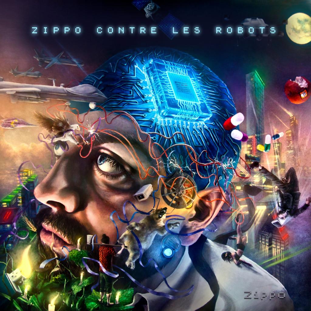 Album: Zippo contre les robots