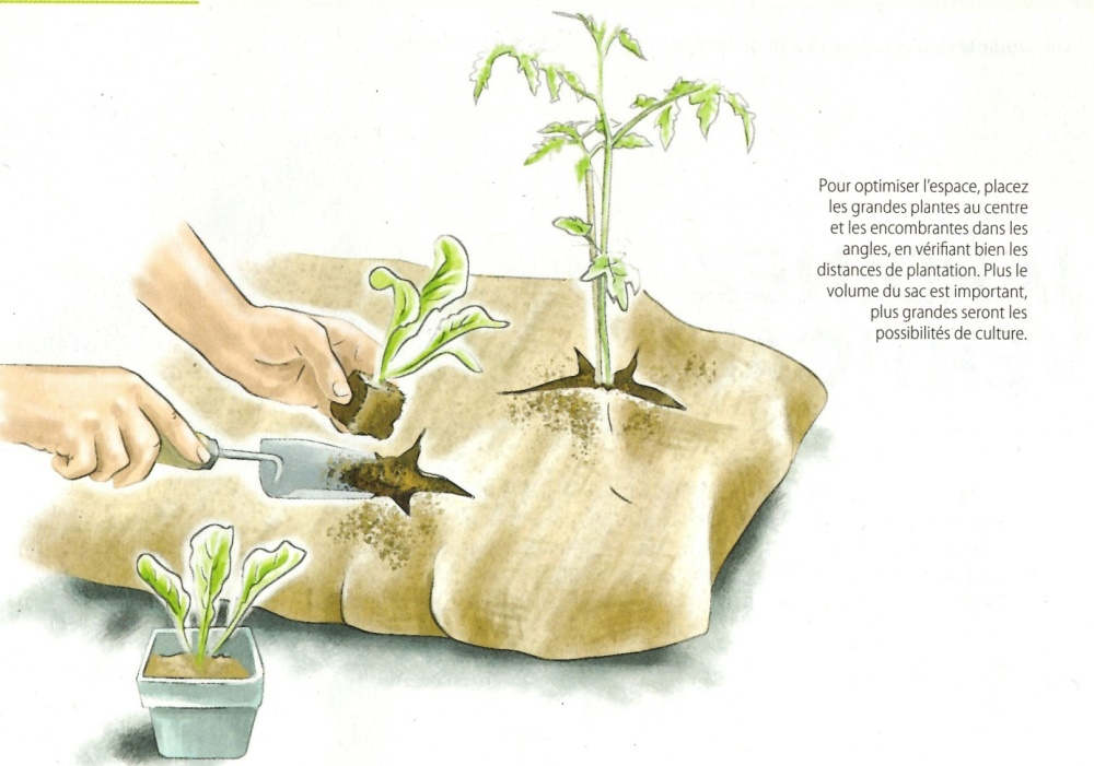 Le jardisac de secours_jardin-centre terre-vivante